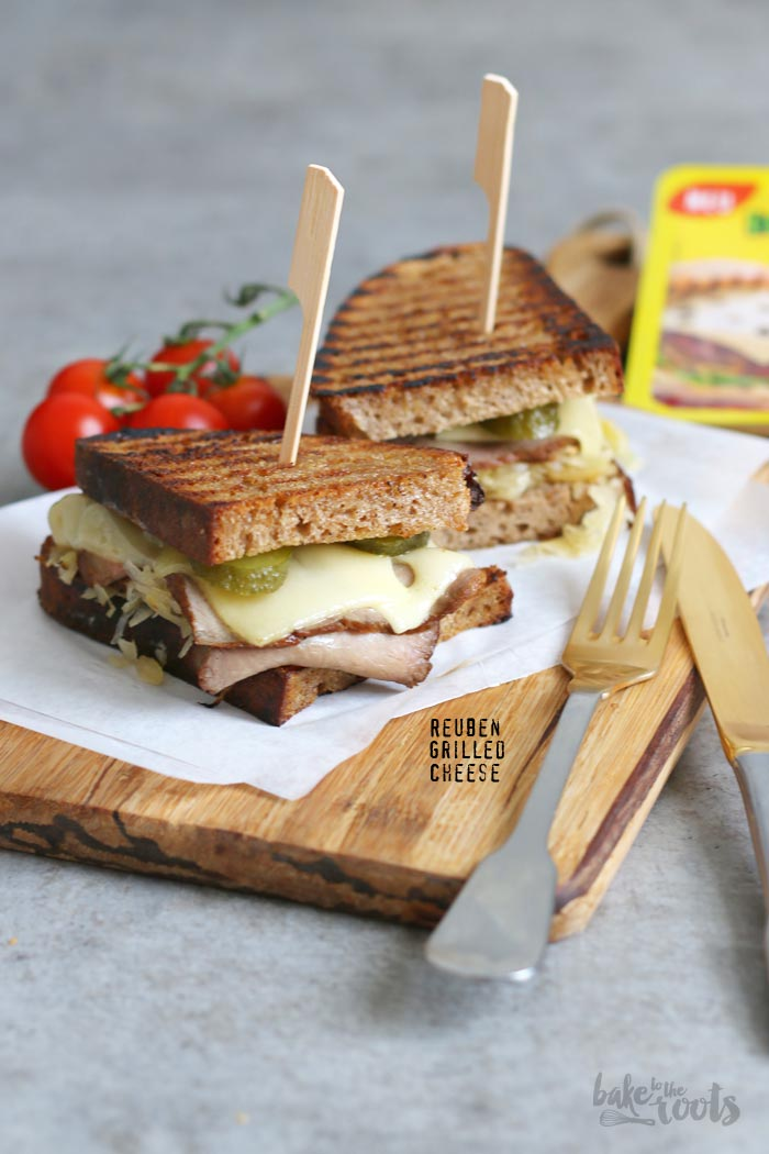 Reuben Grilled Cheese | Bake to the roots