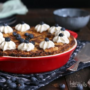 Blueberry Sour Cream Pie | Bake to the roots