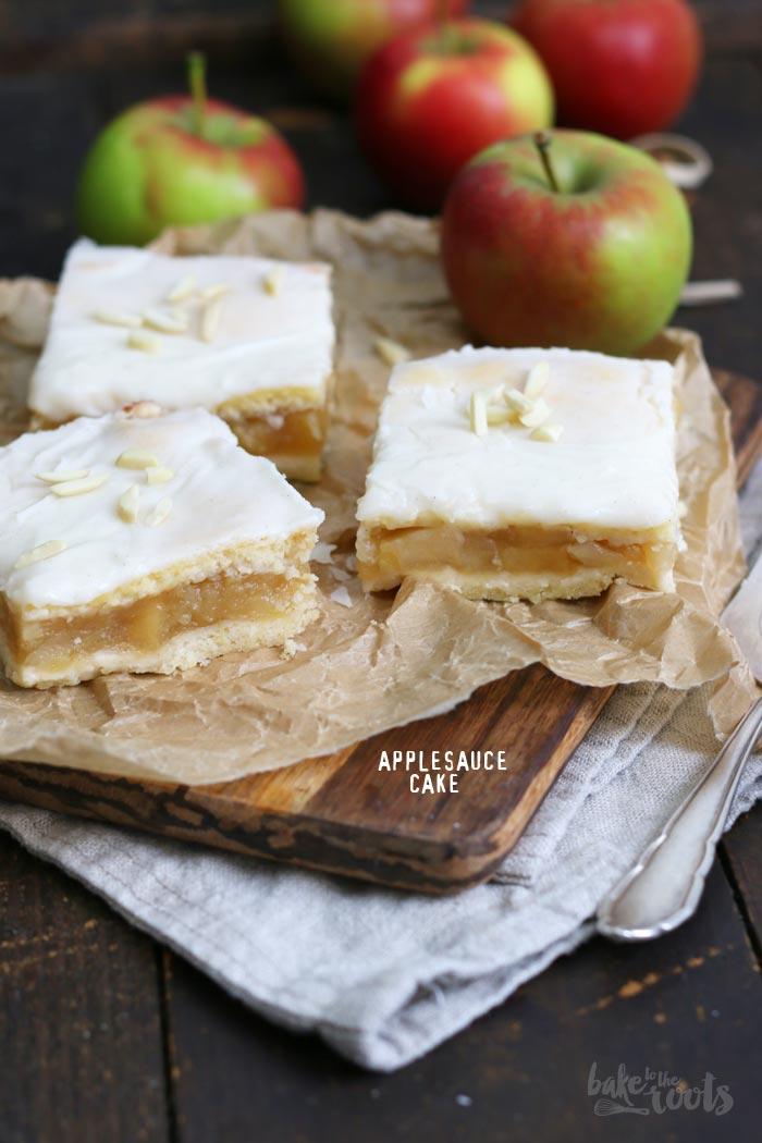 Apfelmus Kuchen | Bake to the roots