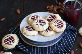 Raspberry Almond Thumbprint Cookies   Bake to the roots