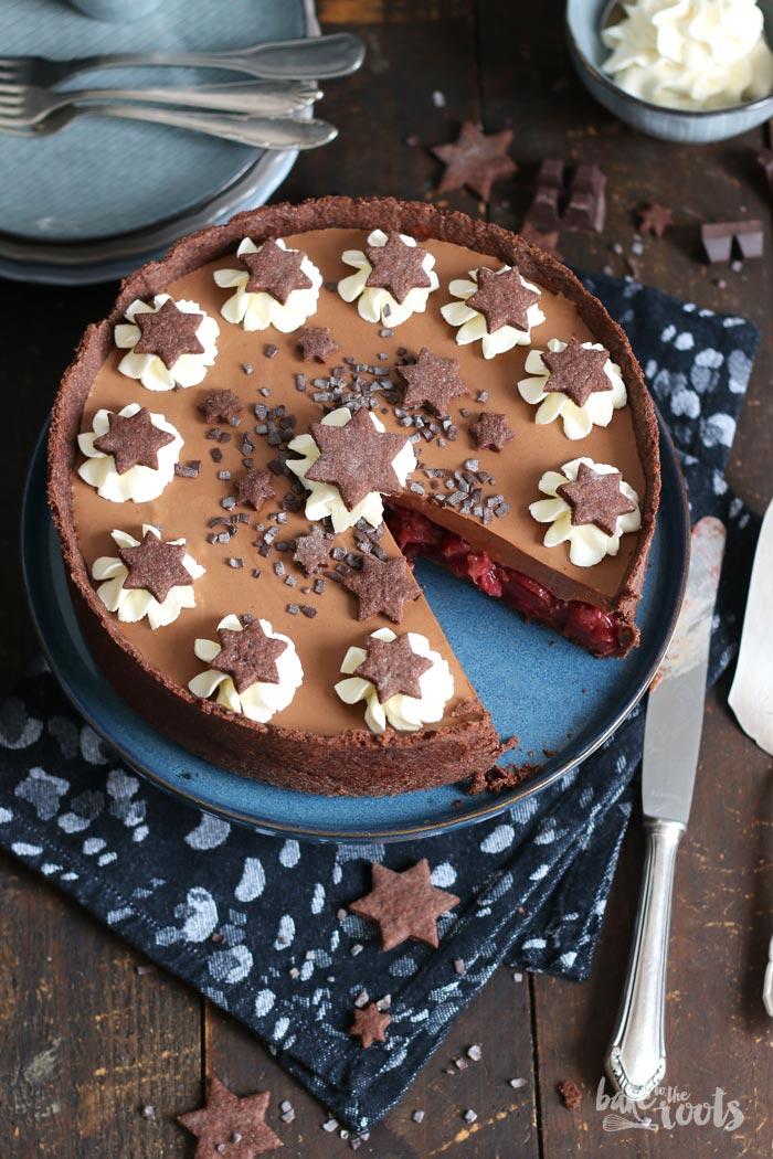 Chocolate Kirsch Cherry Layer Cake