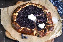 Blueberry Pudding Galette | Bake to the roots
