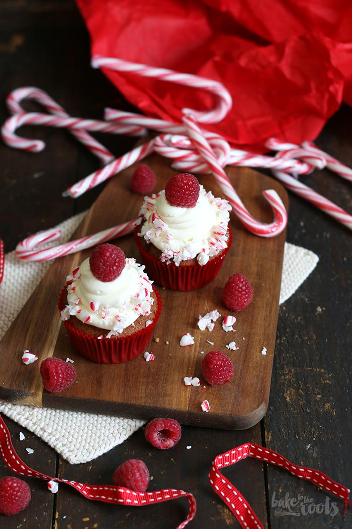 Candy Cane Cupcakes   Bake to the roots