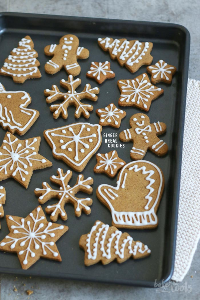 Gingerbread Cookies   Bake to the roots