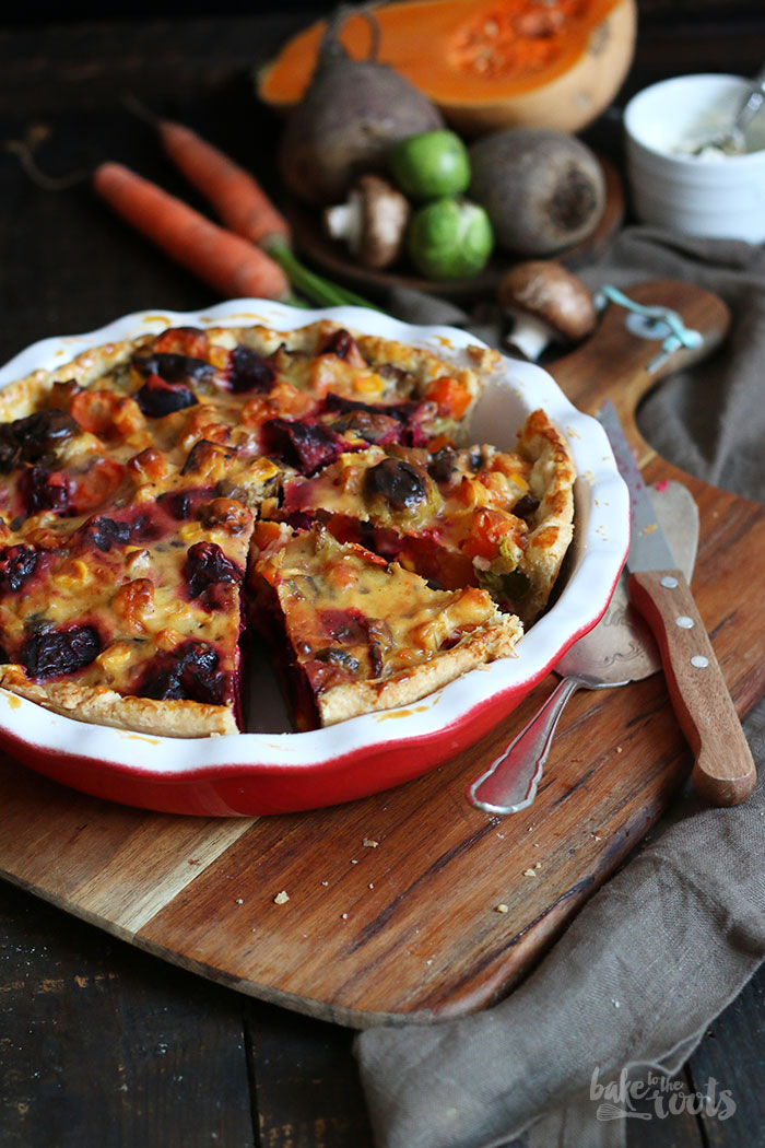 Beetroot Veggie Pie | Bake to the roots