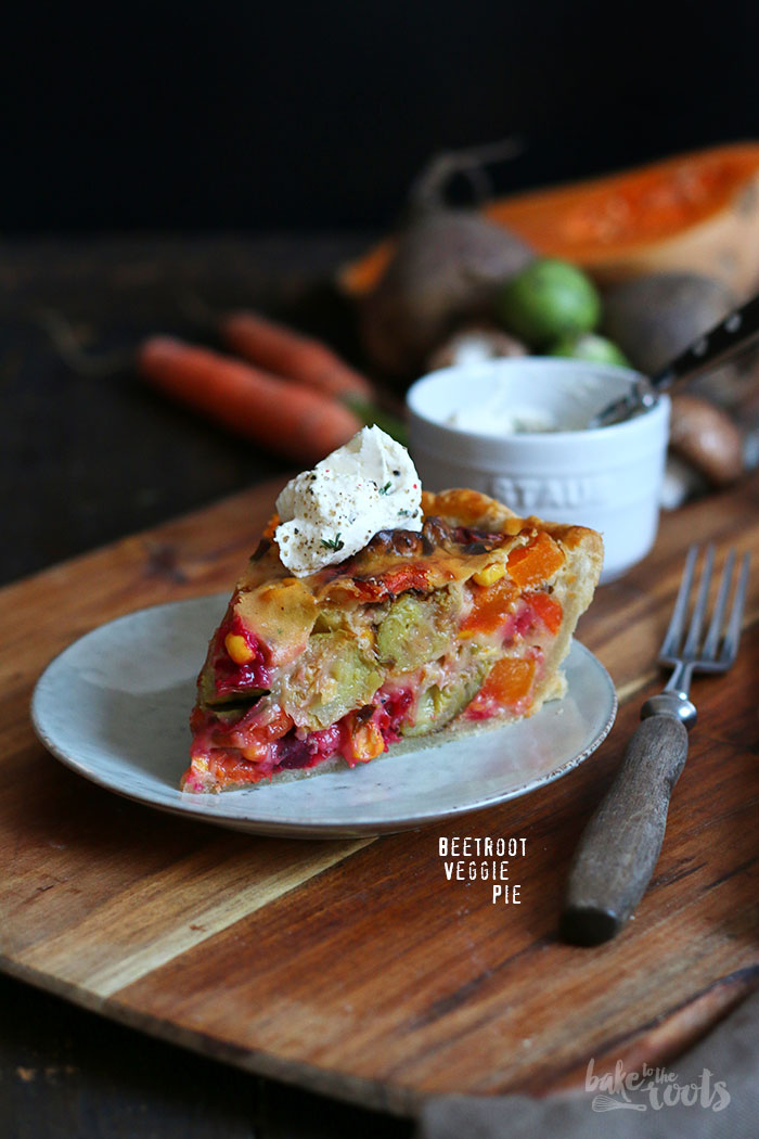 Beetroot Veggies Pie | Bake to the roots
