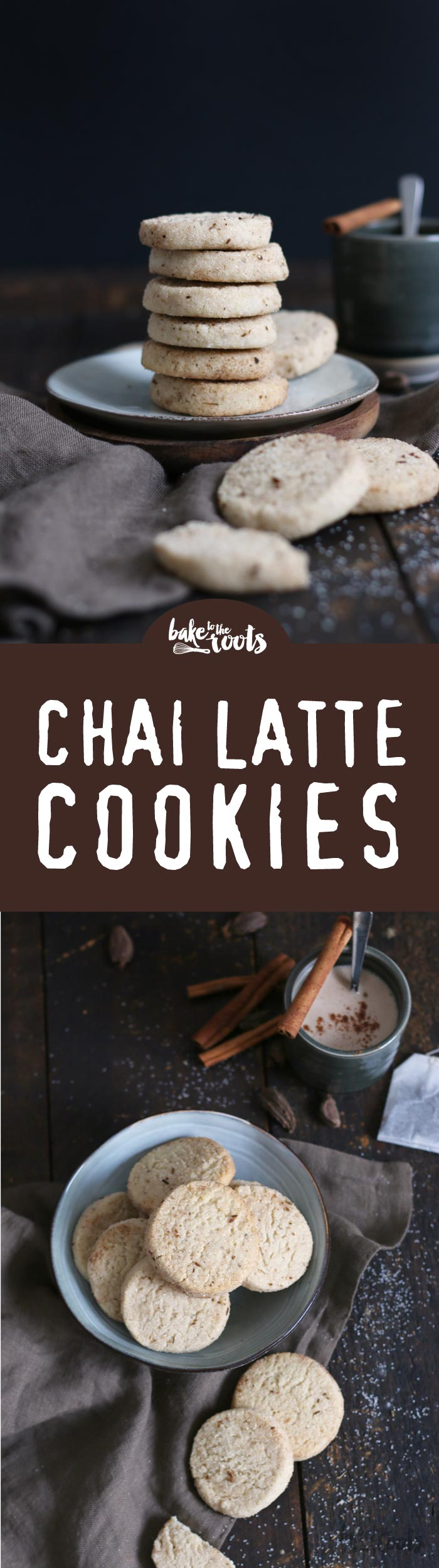 Leckere Chai Latte Cookies | Bake to the roots
