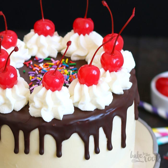 Birthday Cake Banana Split