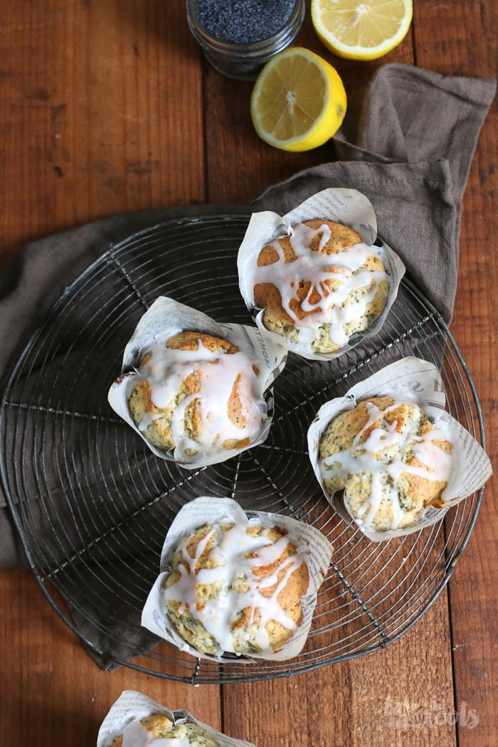 Lemon Poppy Seed Muffins   Bake to the roots