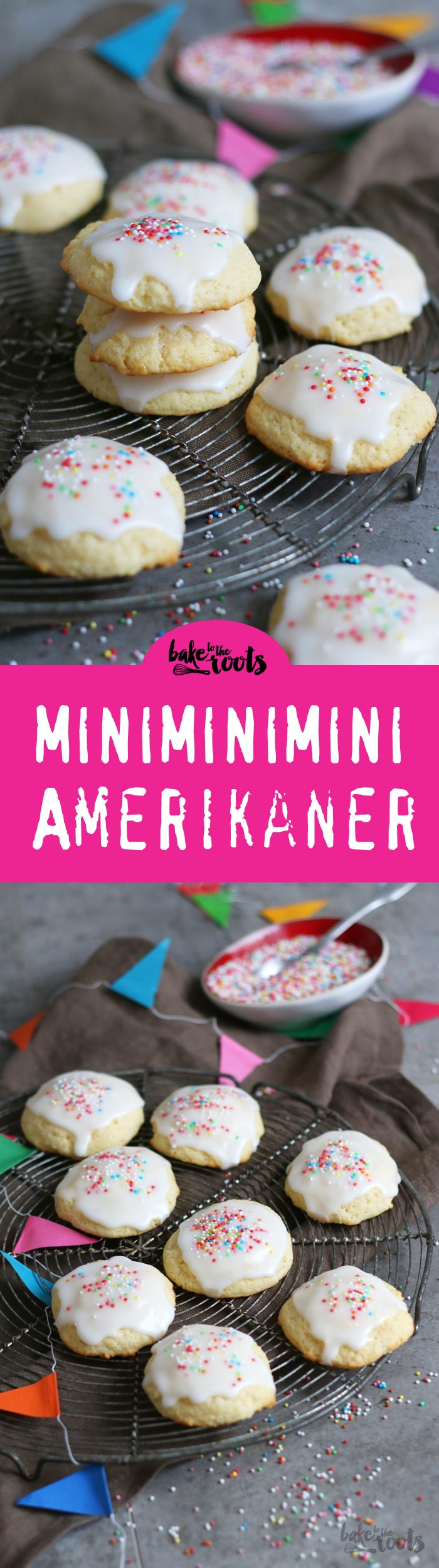 Mini Amerikaner | Bake to the roots