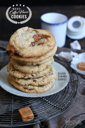 Coffee House Cookies – Salzkaramell Cookies