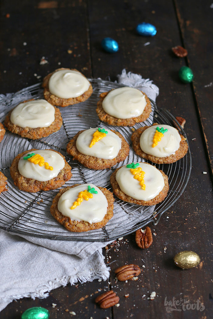 Carrot Cake Cookies | Bake to the roots