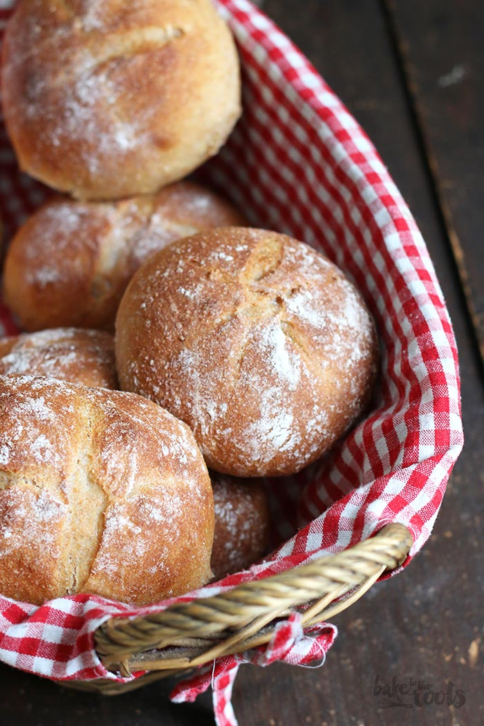 Kartoffel Dinkel Vollkorn Brötchen | Bake to the roots