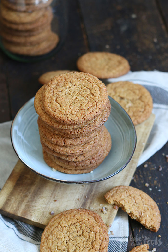 Ginger Snap Cookies | Bake to the roots