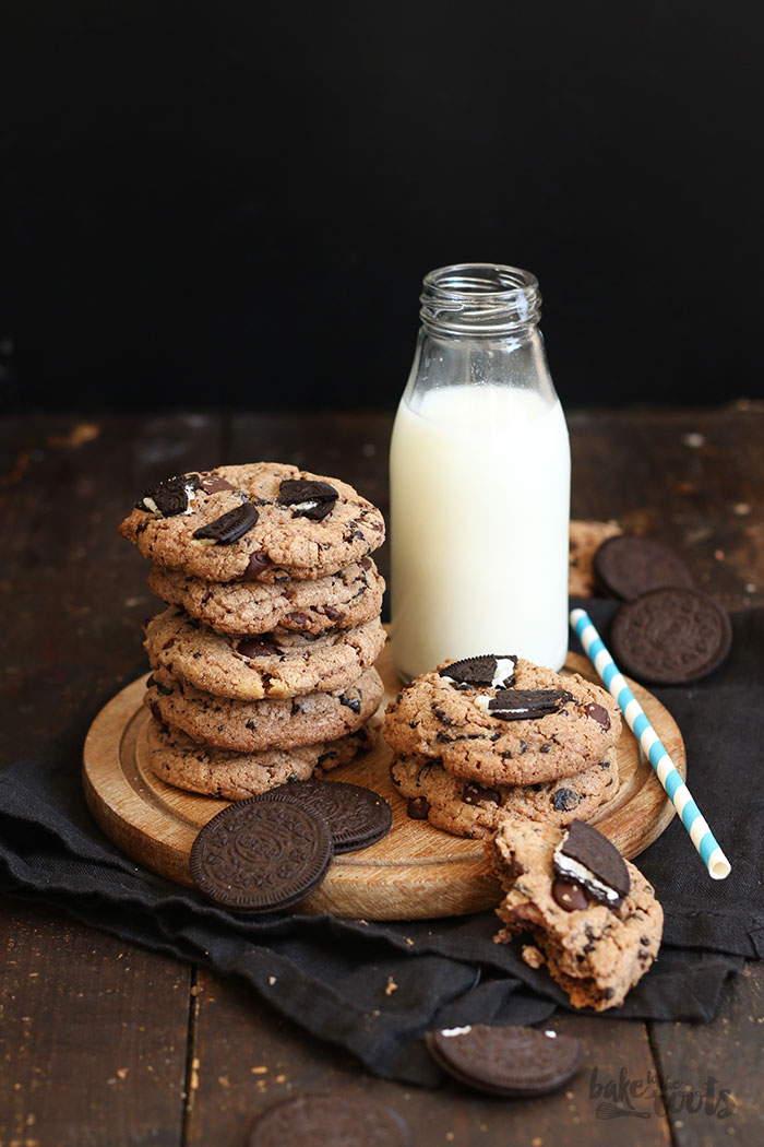 Oreo Chocolate Cookies | Bake to the roots