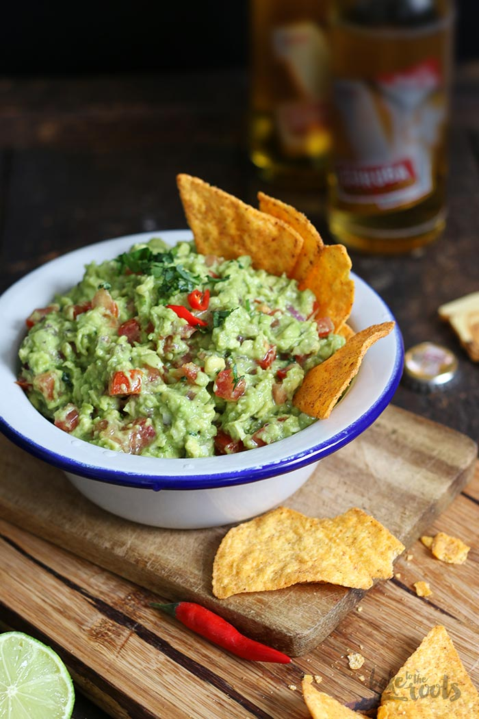 Classic Guacamole | Bake to the roots