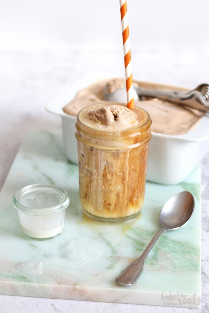 Salted Caramel Cold Brew Ice Cream   Bake to the roots