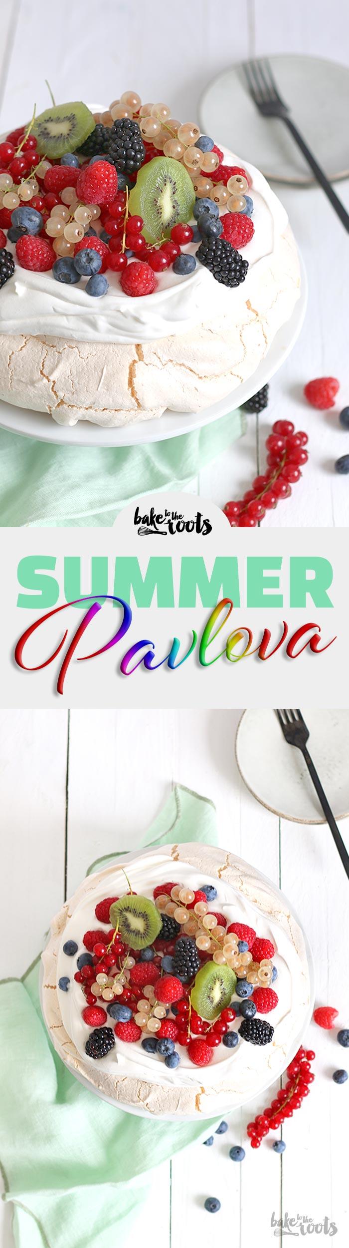 Summer Pavlova   Bake to the roots