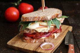 Club Sandwich   Bake to the roots