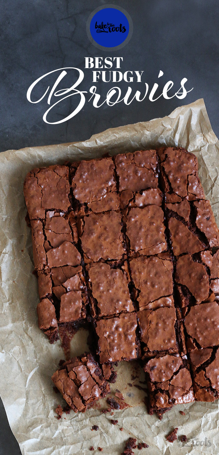 Best Fudgy Brownies   Bake to the roots
