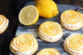 Lemon Cookies | Bake to the roots