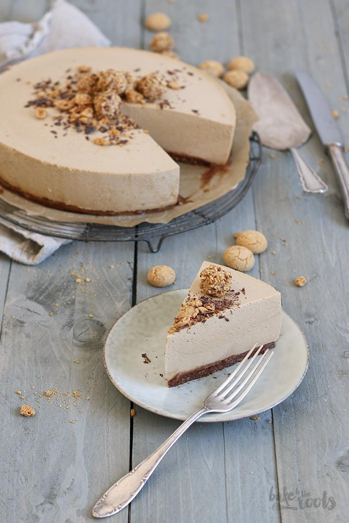 No Bake Amarettini Mousse Torte Bake To The Roots