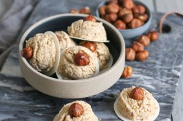 Vegan Hazelnut Cookies | Bake to the roots