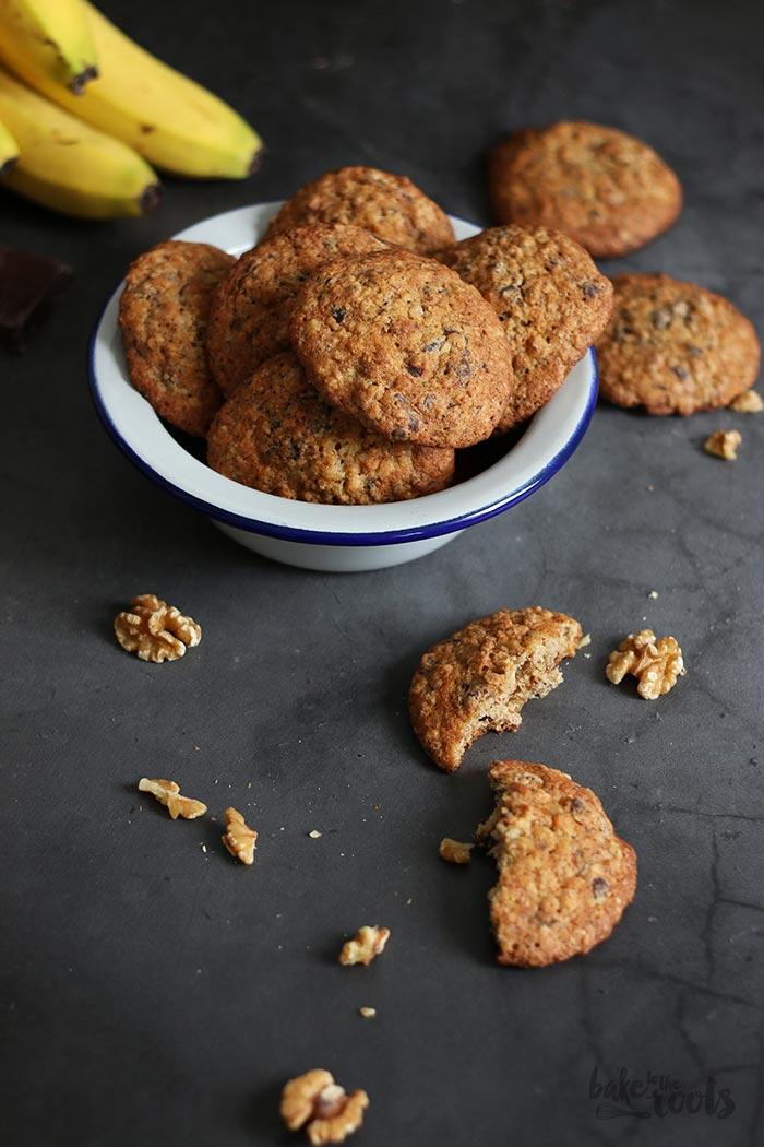 Banana Walnut Chocolate Chunk Cookies   Bake to the roots