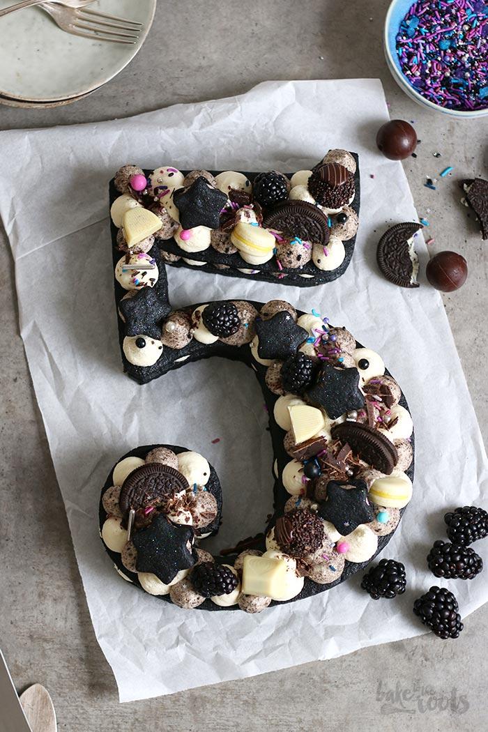 Oreo Cookie Cream Number Kuchen Happy Birthday Bake To The Roots