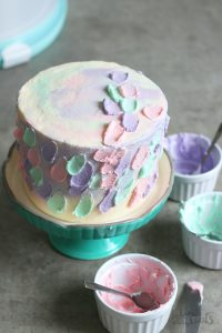 Funfetti Pastel Cake | Bake to the roots