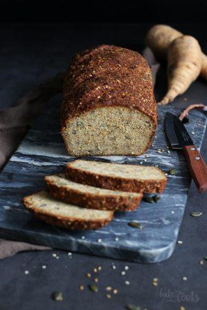 Parsnip Pumpkin Seed Protein Bread (gluten-free)