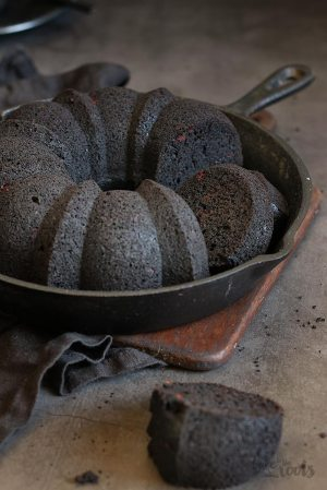 Black Out Chocolate Fudge Bundt Cake