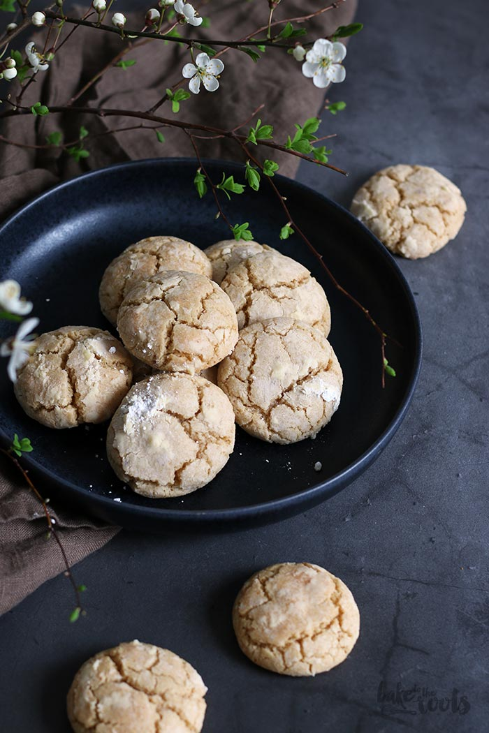 Cinnamon Crinkle Cookies | Bake to the roots