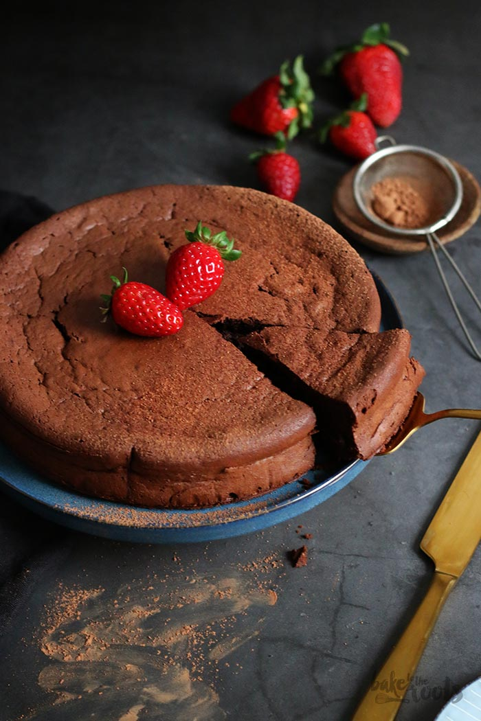 Flourless Chocolate Cake   Bake to the roots
