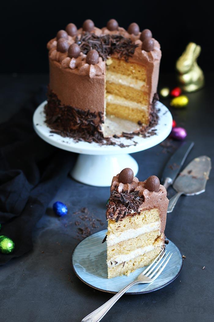 Eierlikör Ostertörtchen | Bake to the roots