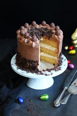 Easter Layer Cake with Eierlikör