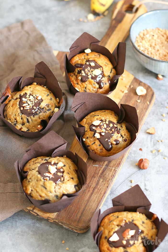 Banana Chocolate Muffins   Bake to the roots