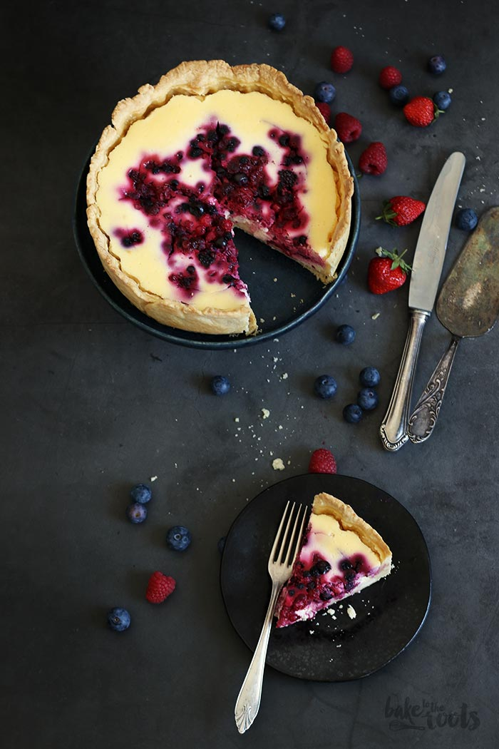 Berry Cheesecake | Bake to the roots