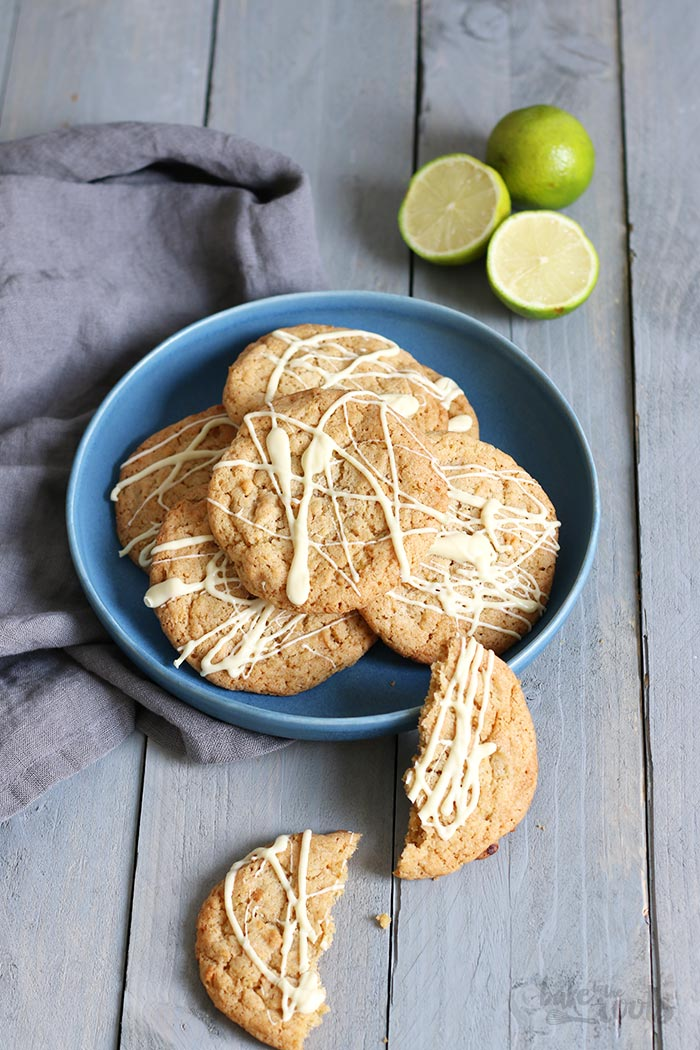 Key Lime Pie Cookies | Bake to the roots