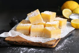 Easy Lemon Bars | Bake to the roots