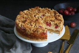 Stachelbeerkäsestreuselkuchen   Bake to the roots
