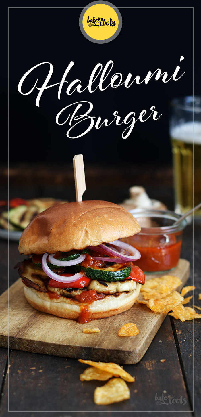 Halloumi Veggie Burger | Bake to the roots