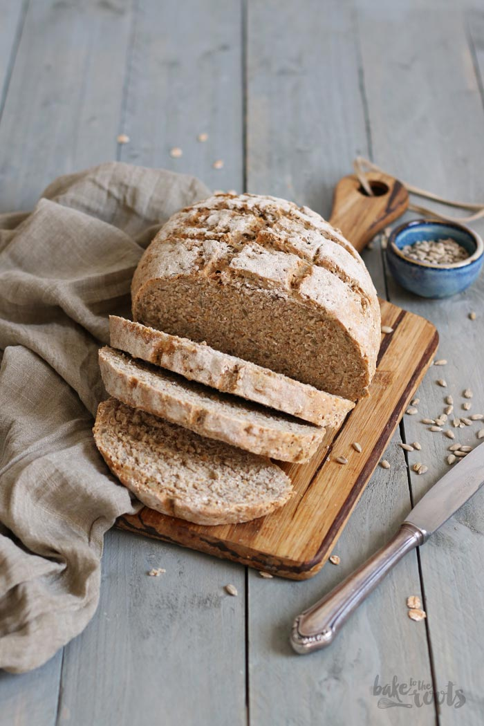 Einfaches Körnerbrot | Bake to the roots