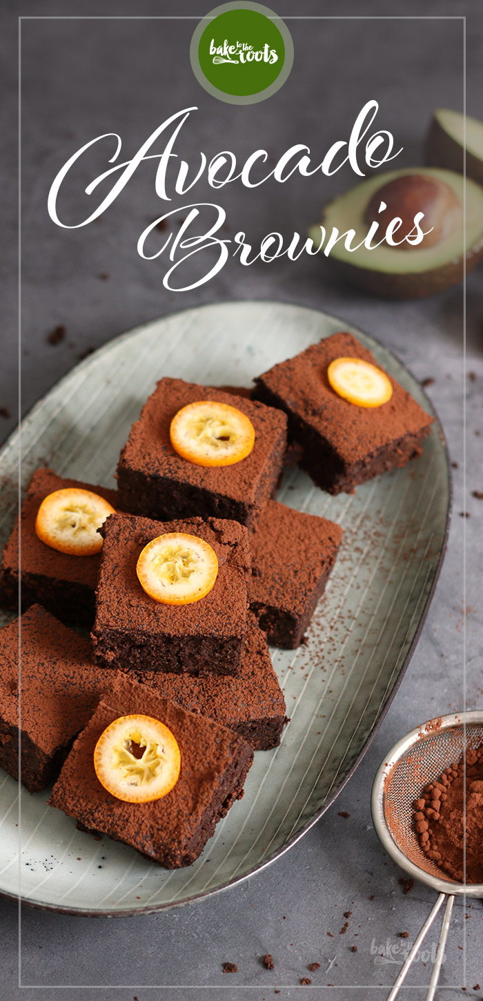 Avocado Brownies | Bake to the roots