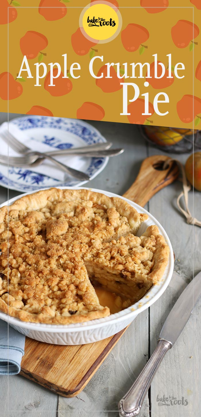 Apple Crumble Pie   Bake to the roots