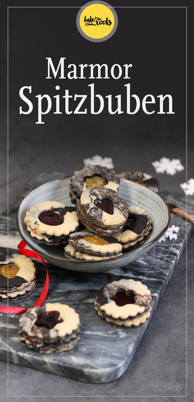 Marmor Spitzbuben | Bake to the roots