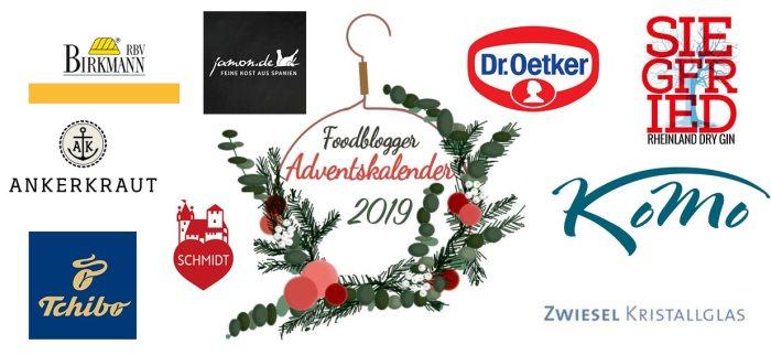 Sponsoren Foodblogger Adventskalender 2019