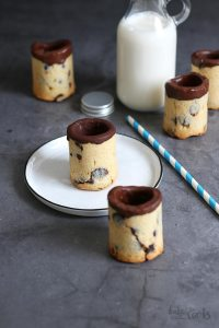 Chocolate Chip Cookie Cups | Bake to the roots