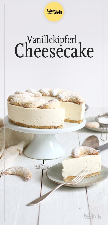 Vanillekipferl Cheesecake | Bake to the roots