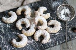 Vegane Vanillekipferl | Bake to the roots